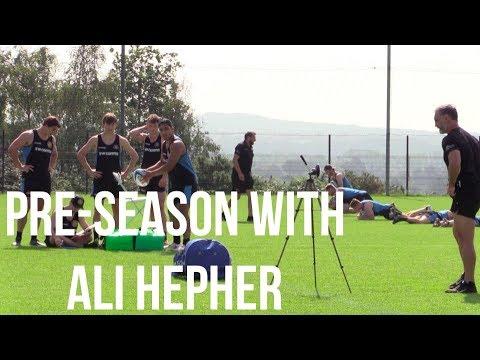 Chiefs TV - Ali Hepher Pre-Season Interview