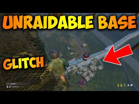 This Glitched Base Is Completely Unraidable DayZ Gameplay - The Best Base Ever