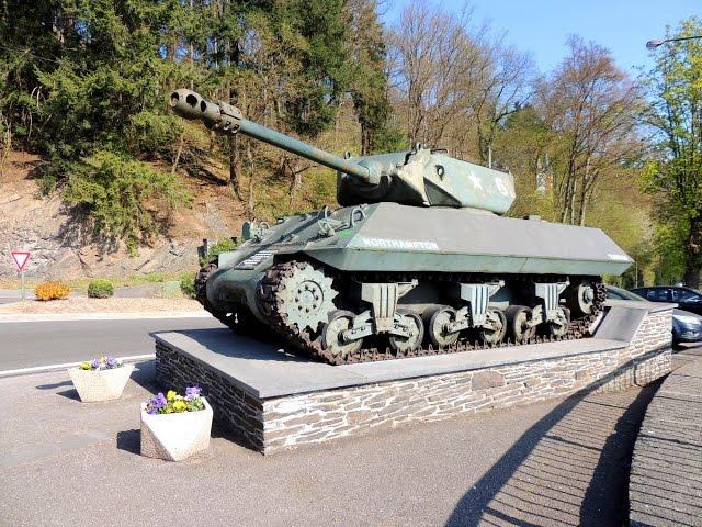 Road trip por La Batalla de las Ardenas en Valonia - Bélgica. Second Warr II Belgic battle