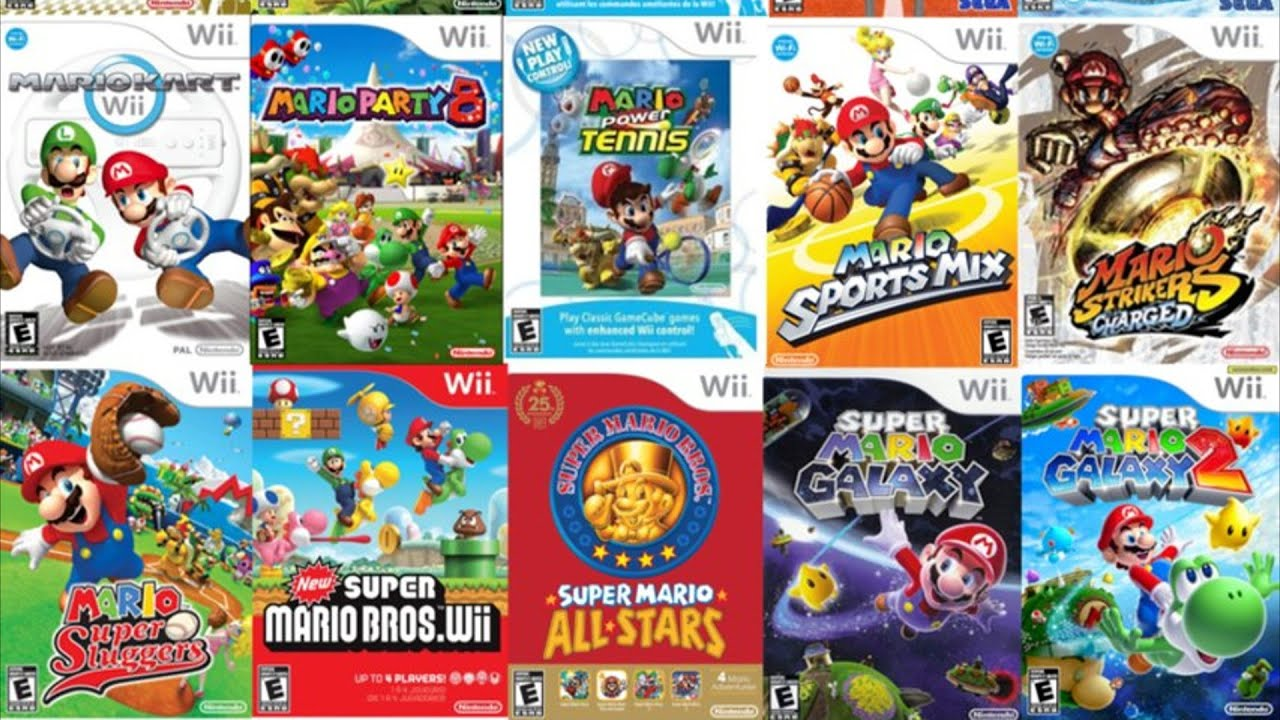wii games rated