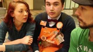Cashier Tricks (w/ Chris at Home Depot) -- AJ & Mia #17