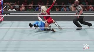 Women Wrestling Courtesy of WWE2K19