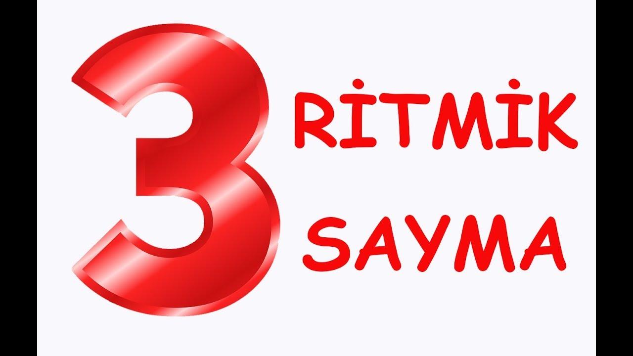 3er 3er 30 A Kadar Ritmik Sayma Youtube