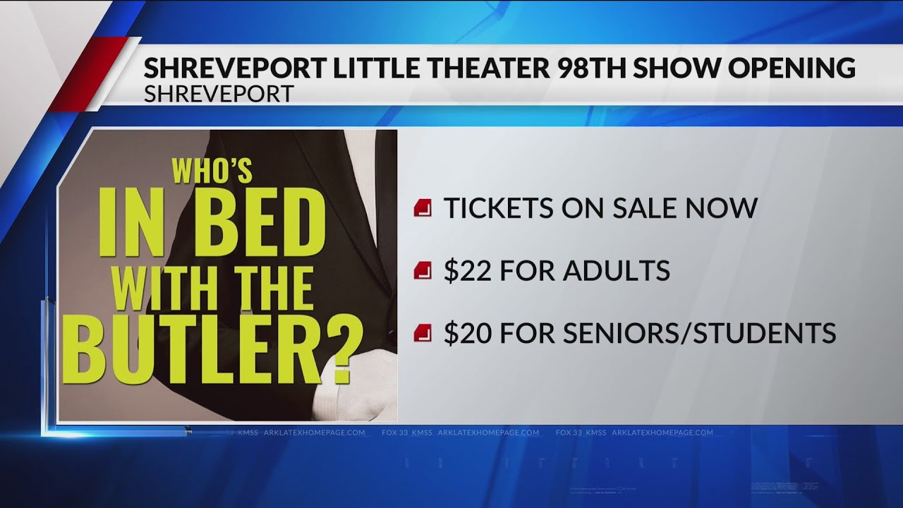 Shreveport Little Theater 98th season opening this weekend