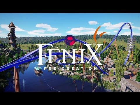 """Fēnix"" pre-creation showcase - Planet Coaster"