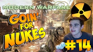 ANOTHER ONE!? - Call of Duty: Mw2 Going for NUKES! w/LIVE REACTION #14