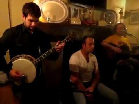 Larkins Garrykennedy - Irish Music Banjo Session