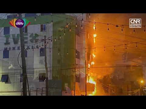 Fire guts office complex in Adabraka | #CitiNewsroom