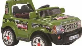 Детскиe Электромобили JJ 012R Land Rover Одесса avtosalon1.com.ua(, 2012-03-14T13:45:42.000Z)