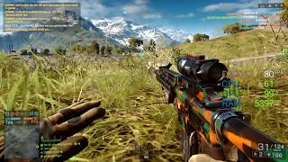 GeForce GT 1030 -- AMD Ryzen 3 1300X -- Battlefield 4 FPS Test Golmud Railway