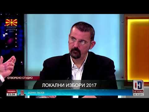 Локални избори - Свети Николе - ТВ Нова 05.10.2017