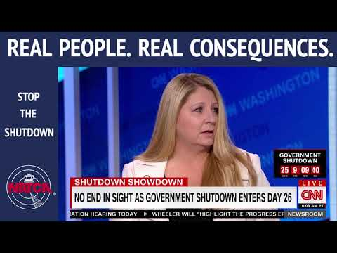 """NATCA EVP Trish Gilbert live on CNN: """"Less safe today than it was a month ago"""""""
