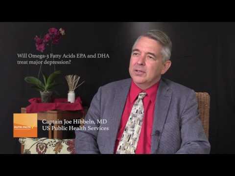 Will Omega-3 Fatty Acids EPA and DHA Treat Major Depression?