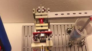 UAA180 Wasserstandsmesser mit Potentiometer und Fischertechnik