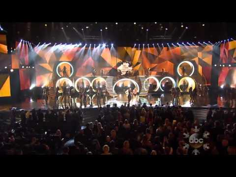 "Pitbull & Kesha "" Timber "" Live At AMA 2013 American Music Awards"