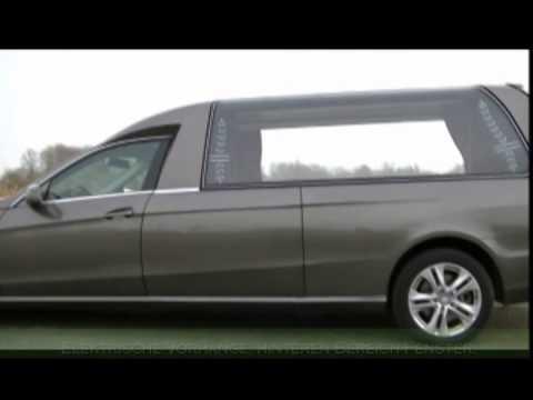 Neu Mercedes E klasse Grau Leichenwagen Deutsch ...