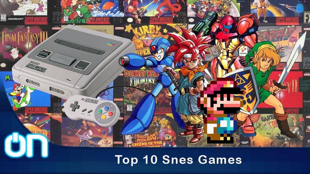 Top 10 Snes Games Los Mejores Juegos De Snes Reportaje Youtube