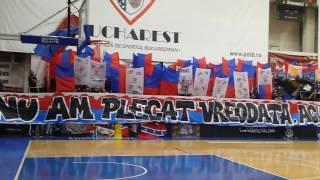 Steaua Bucuresti -Sibiu, Peluza Sud Steaua 08.03.2017, Ultras Steaua prima coregrafie, partea 1