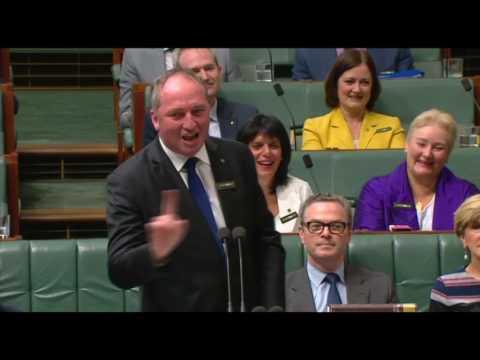 Does anyone speak 'Barnaby'?