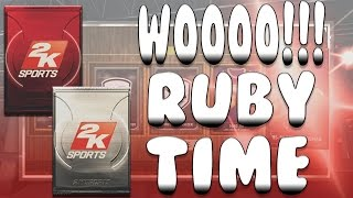 NBA 2K15 My Team Pack Opening, Wooo Its Ruby Time, Glass Cleaner and Throwback Packs