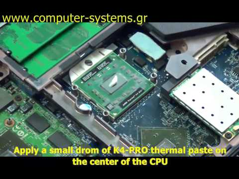 How to replace thermal pad and paste on acer aspire 7520g laptops youtube for Thermal watches