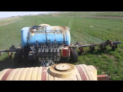 Ag Leader Geosteer Versa auto steering Case IH 235 with weed & feed applicator