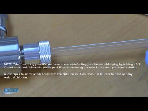 Wonderlight Ultraviolet (UV) Sterilizer Maintenance and Service