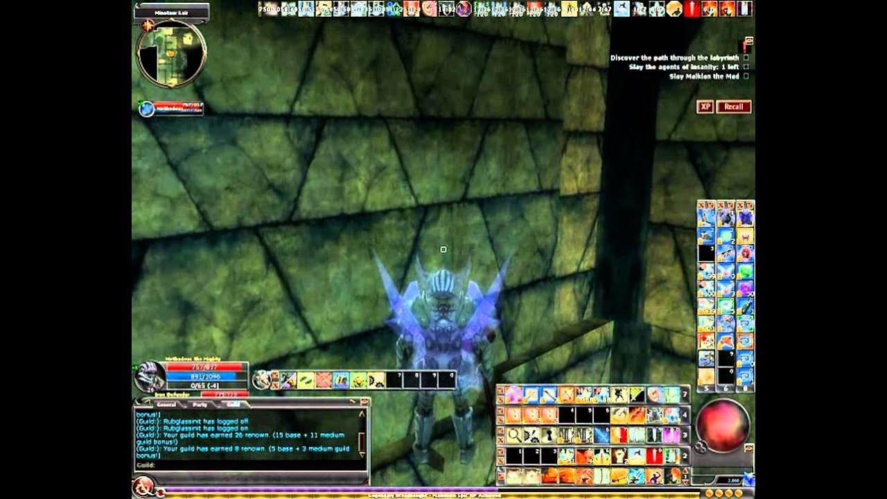 DDO Bardruid Grim R8 Solo 10 mins by Vincio