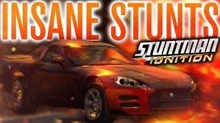 INSANE STUNTS! DEATH BY LAVA?! | Stuntman Ignition