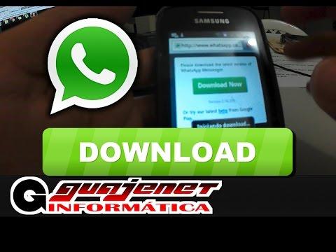 Como instalar Whatsapp sem o PlayStore  Sem enrolação