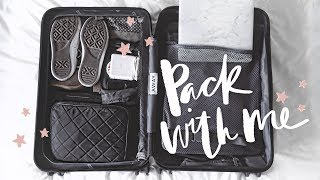 One of Jasmine Rossol's most viewed videos: Pack With Me! How I Organize My Carry-On Suitcase