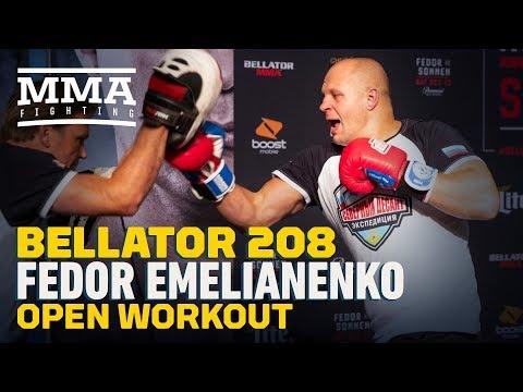 Fedor Emelianenko Bellator 208 Workout Highlights - MMA Fighting