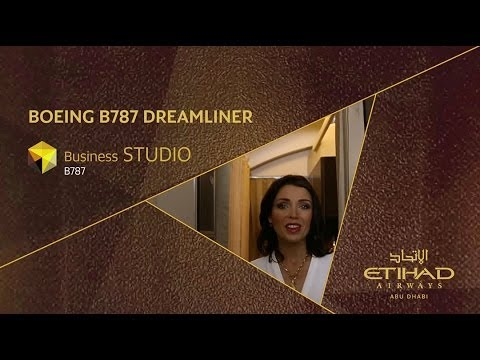 Dannii Minogue Explores the Business Studio - Etihad Airways