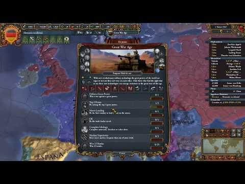Europa Universalis IV - TimelineMod - Alemania Occidental