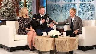 An Emotional Surprise for an Inspiring Veteran
