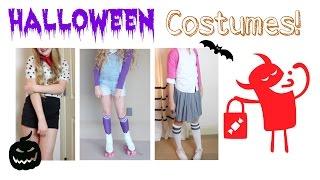3 Last Minute Halloween Costumes! | Avrey Elle Thumbnail