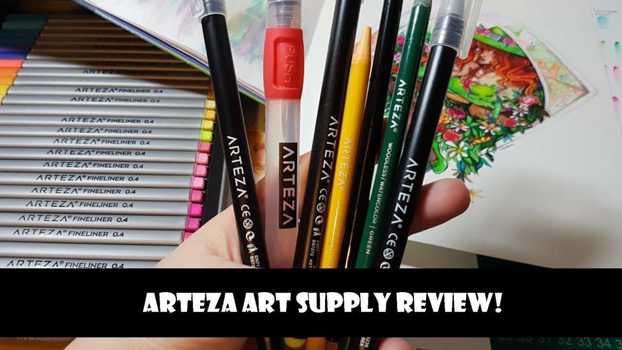 Arteza Art Supply review - YouTube