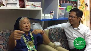 Cancer, Postherpetic Syndrome, Allergy, Eyesight: #SimplyNature #SuccessStories w/ Sis Rosa of Macau