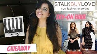 STALKBUYLOVE TRY-ON HAUL + APRIL GIVEAWAY 2 | Sana K