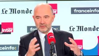 Pierre Moscovici, invité de Questions politiques : première partie
