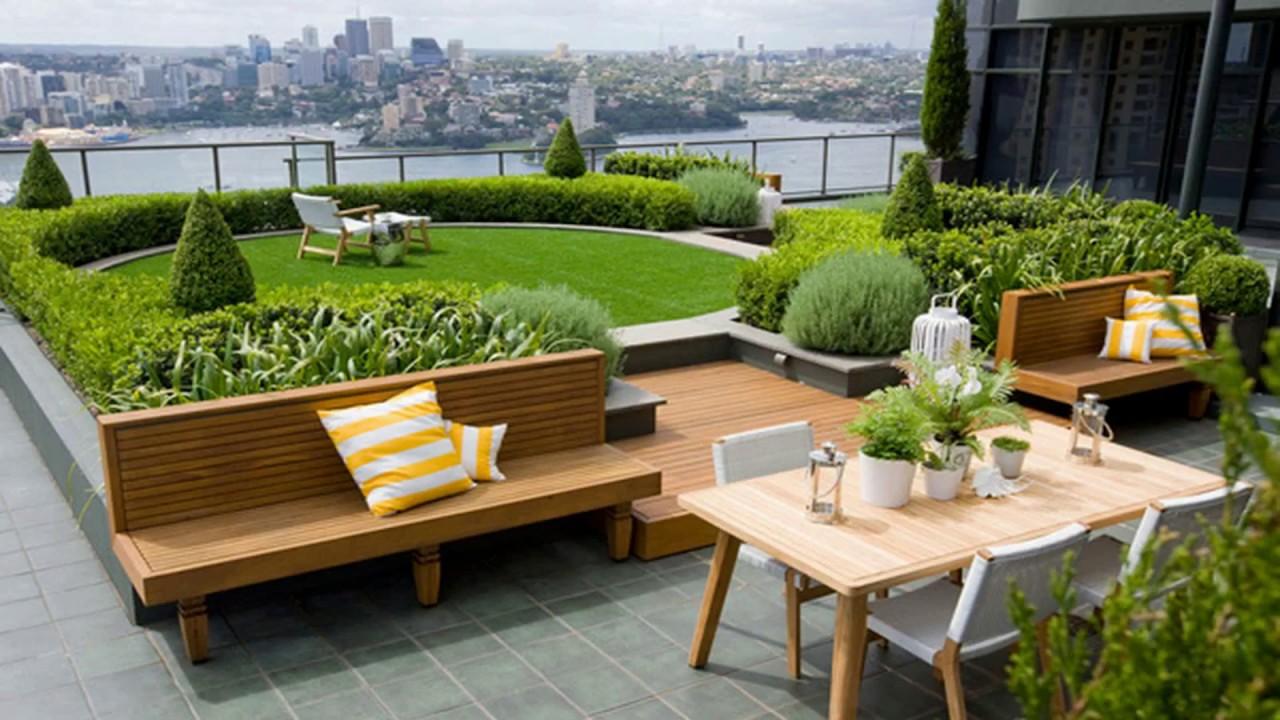 Trending Amazing Roof Garden Design Ideas Cheap Diy