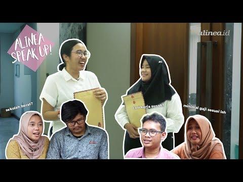 [SPEAK UP!] Sekolah itu berat dan Cari kerja di Indonesia susah? | #3