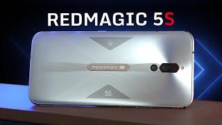 Обзор Red Magic 5S за 39 990 рублей! Игрофон с КУЛЕРОМ внутри и экраном 144 Гц
