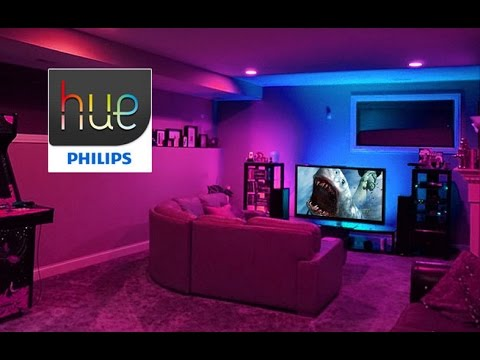 philips hue true experience watch the philiphs hue lights dance youtube. Black Bedroom Furniture Sets. Home Design Ideas