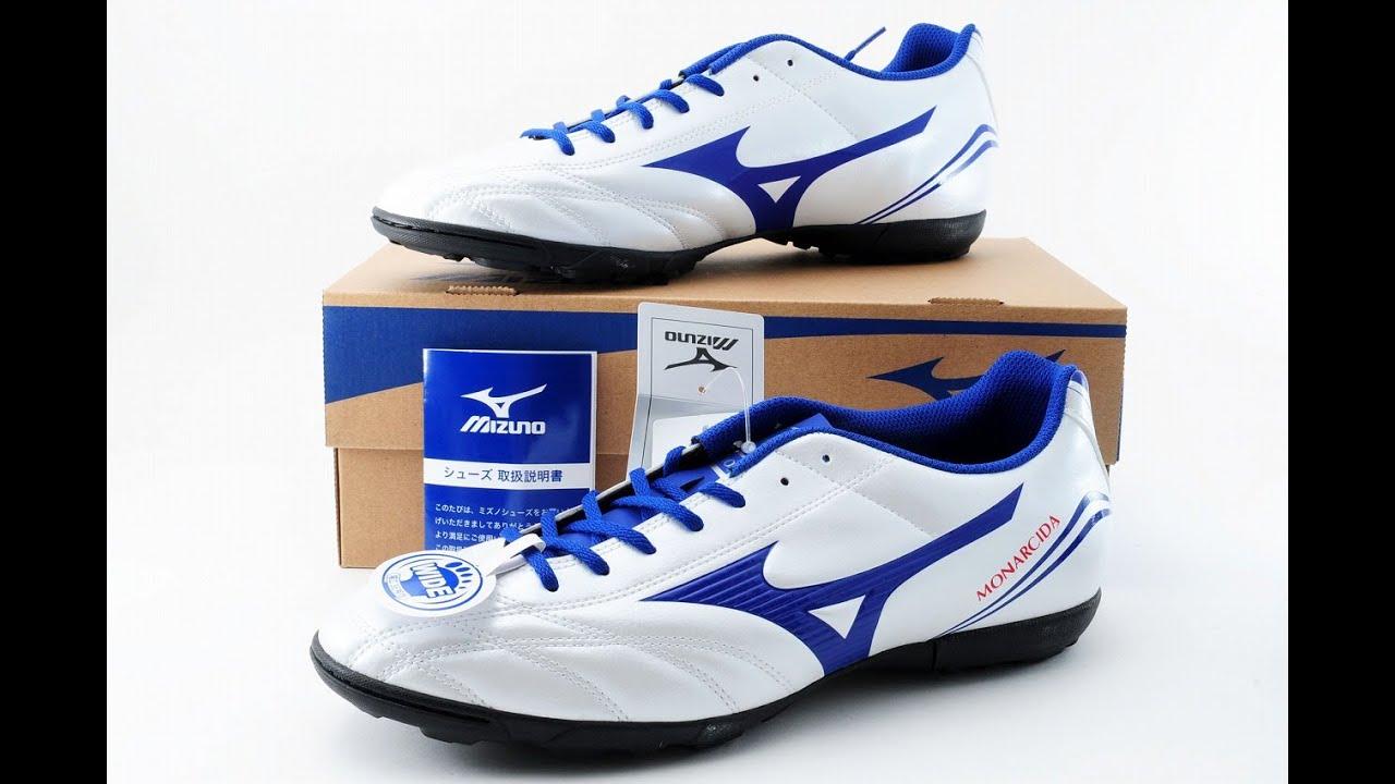 f69d28a20 ... uk mizuno japan monarcida soccer football shoes cleats turf p1gd1623  white 2016 110650 youtube d48b3 959ba