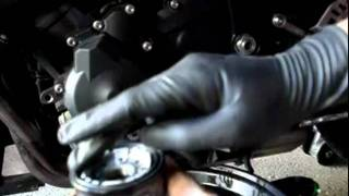 How to: change oil and filter on a 2008 09-12 Yamaha R6