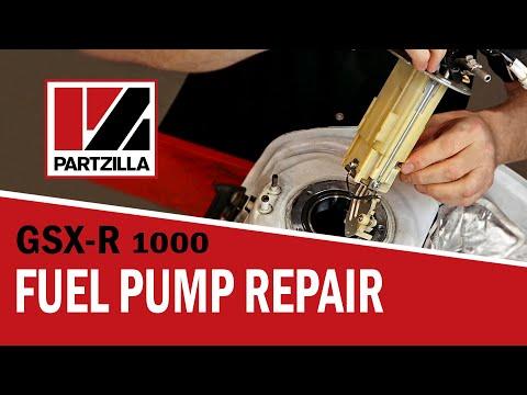 GSXR Fuel Pump Repair   Suzuki GSX-R1000   Partzilla.com