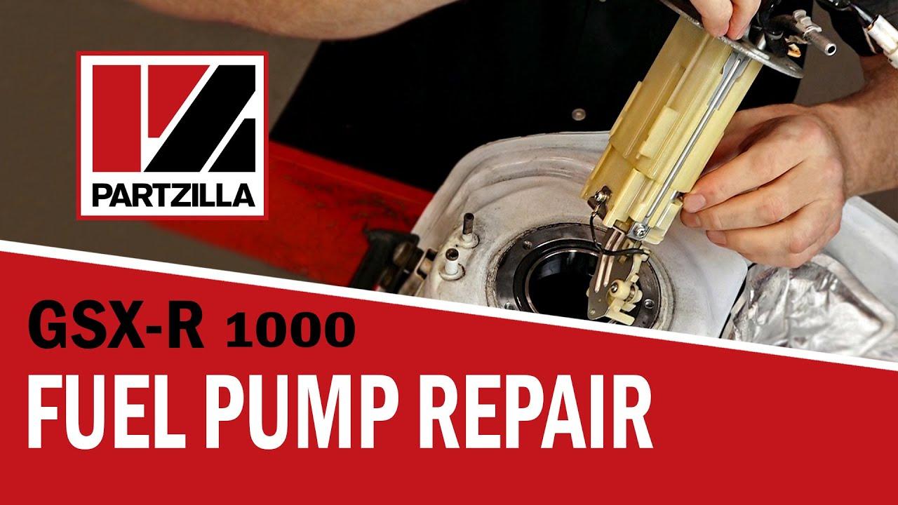 suzuki gsx r fuel pump wire diagram gsxr fuel pump repair suzuki gsx r1000 partzilla com youtube  gsxr fuel pump repair suzuki gsx