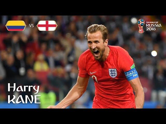 Harry KANE Goal – Colombia v England  – MATCH 56