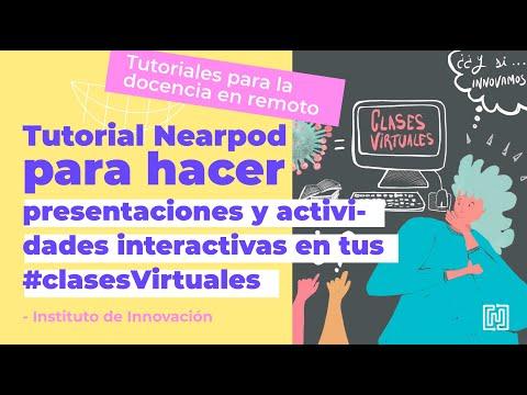 Tutorial Nearpod para hacer presentaciones y actividades interactivas en tus #clasesVirtuales